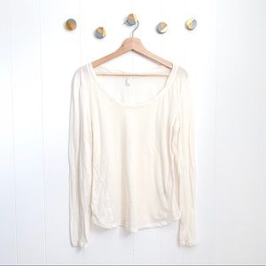 E by Eloise Anthropologie Tissue weight Tee | L